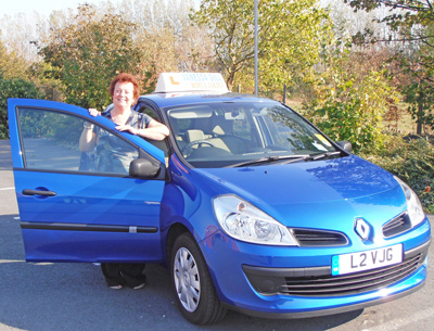 vanessa's driving school, friendly and patient female driving instructor